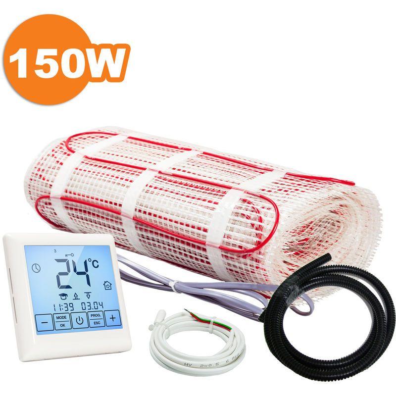 Kit Plancher Chauffant Electrique Rayonnant Pour Carrelage 150 W