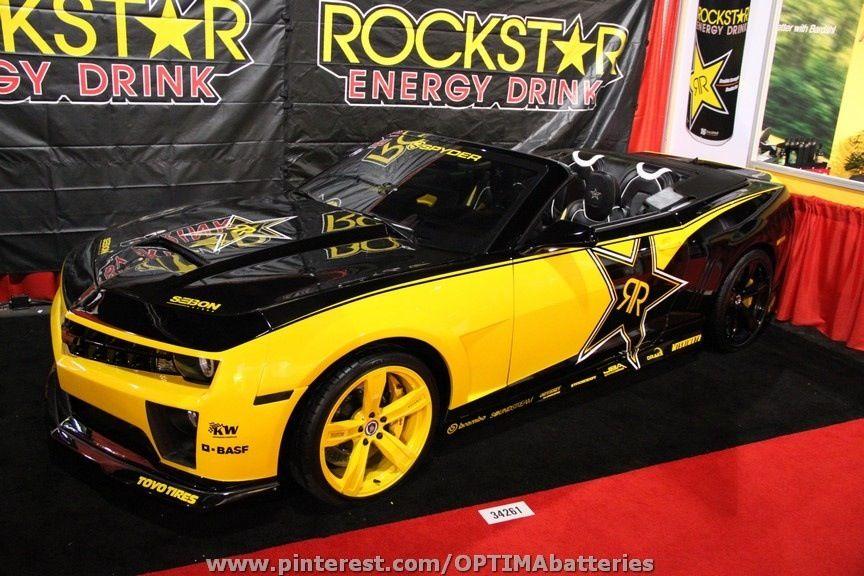 Rockstar Camaro Rockstar Energy Drinks Rockstar Energy Energy