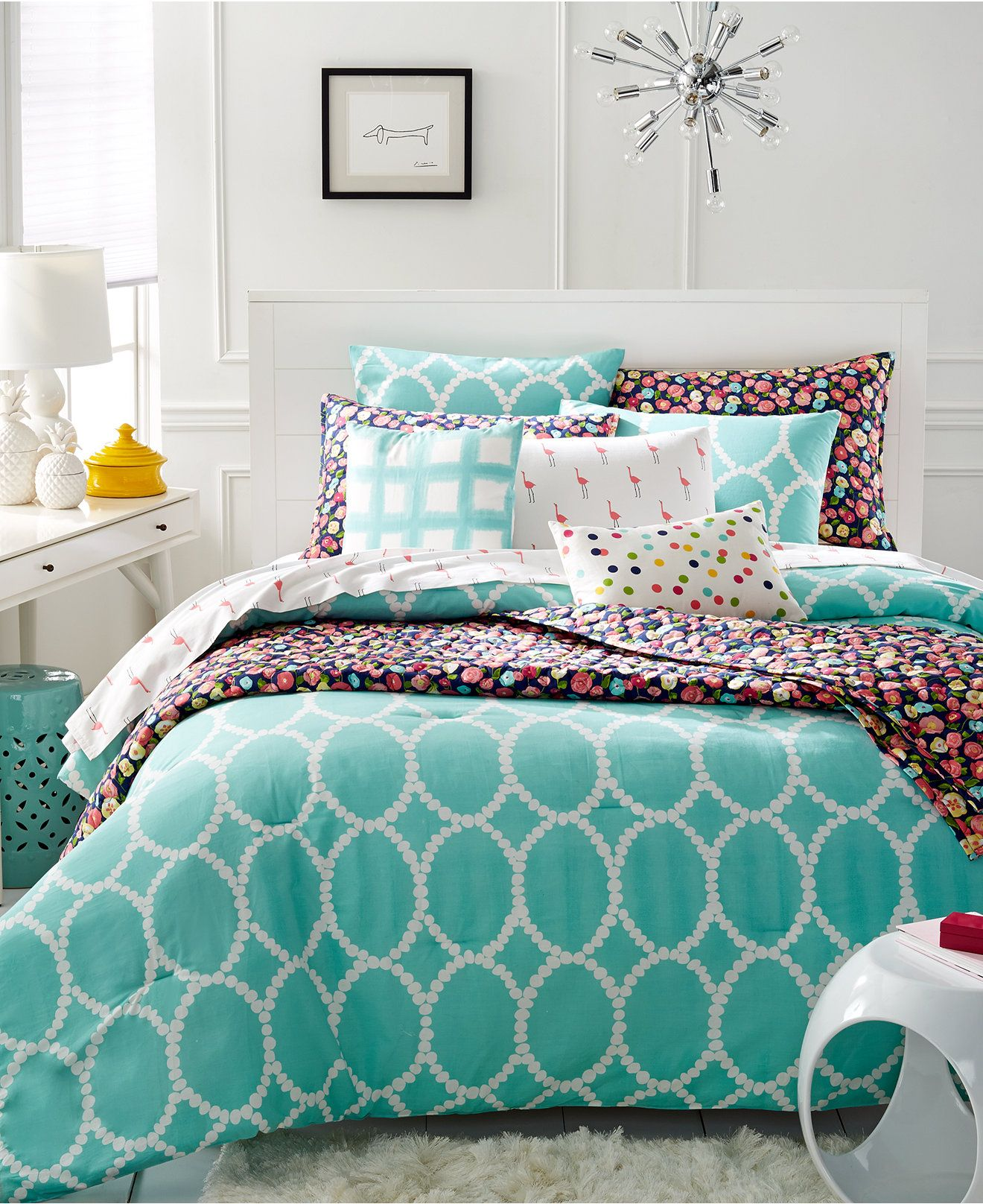 Martha Stewart Whim Collection Mirror Mirror Bedding Collection Bed In A Bag Bed Bath Macy S