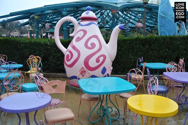 Mad Hatters Tea Cups in Fantasy Land