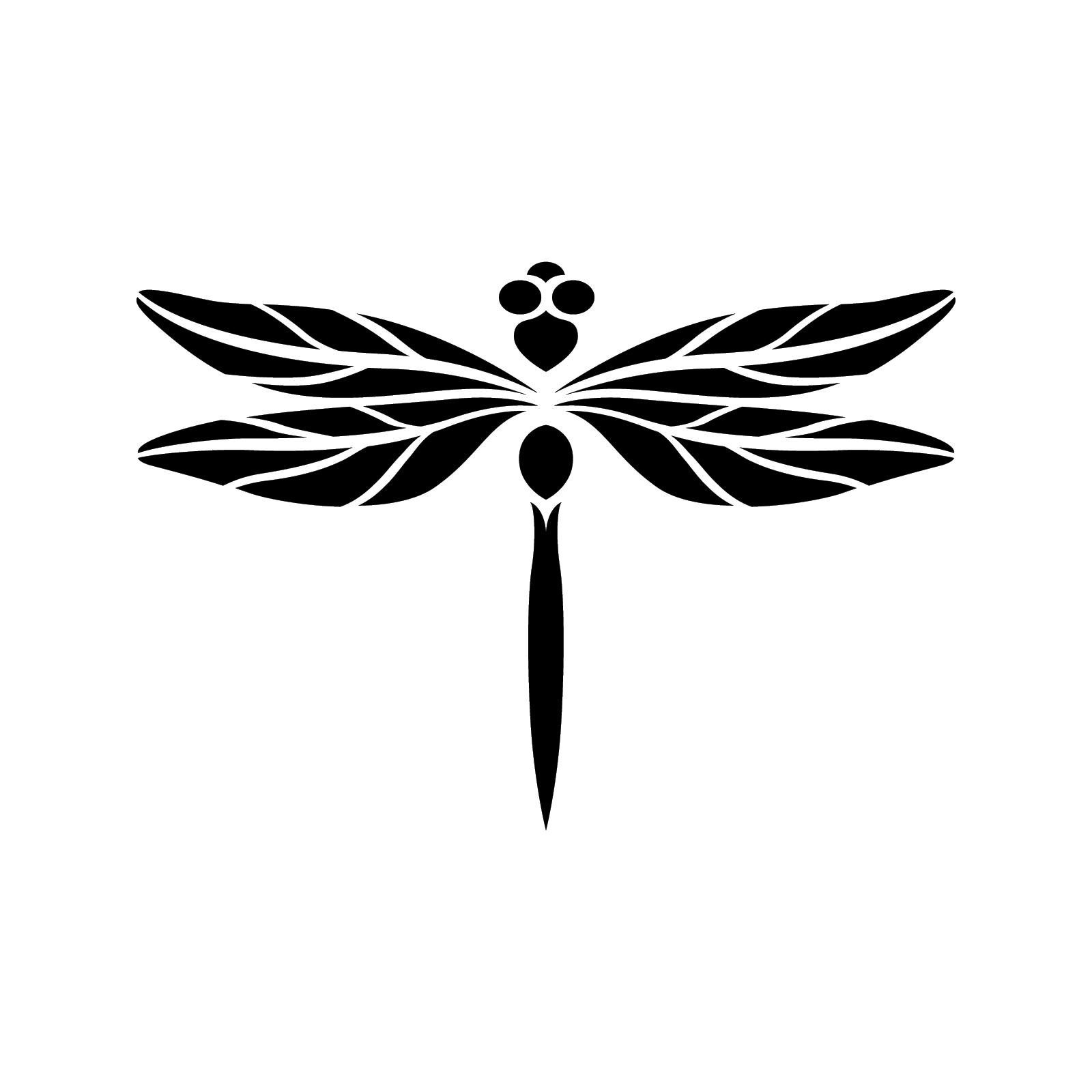 Dragonfly Stencil Dragonfly Dragonfly Art Dragonfly Silhouette