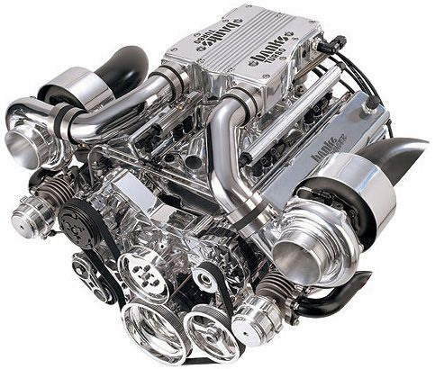 engine turbo | The new-generation Banks twin-turbo Revival small ...