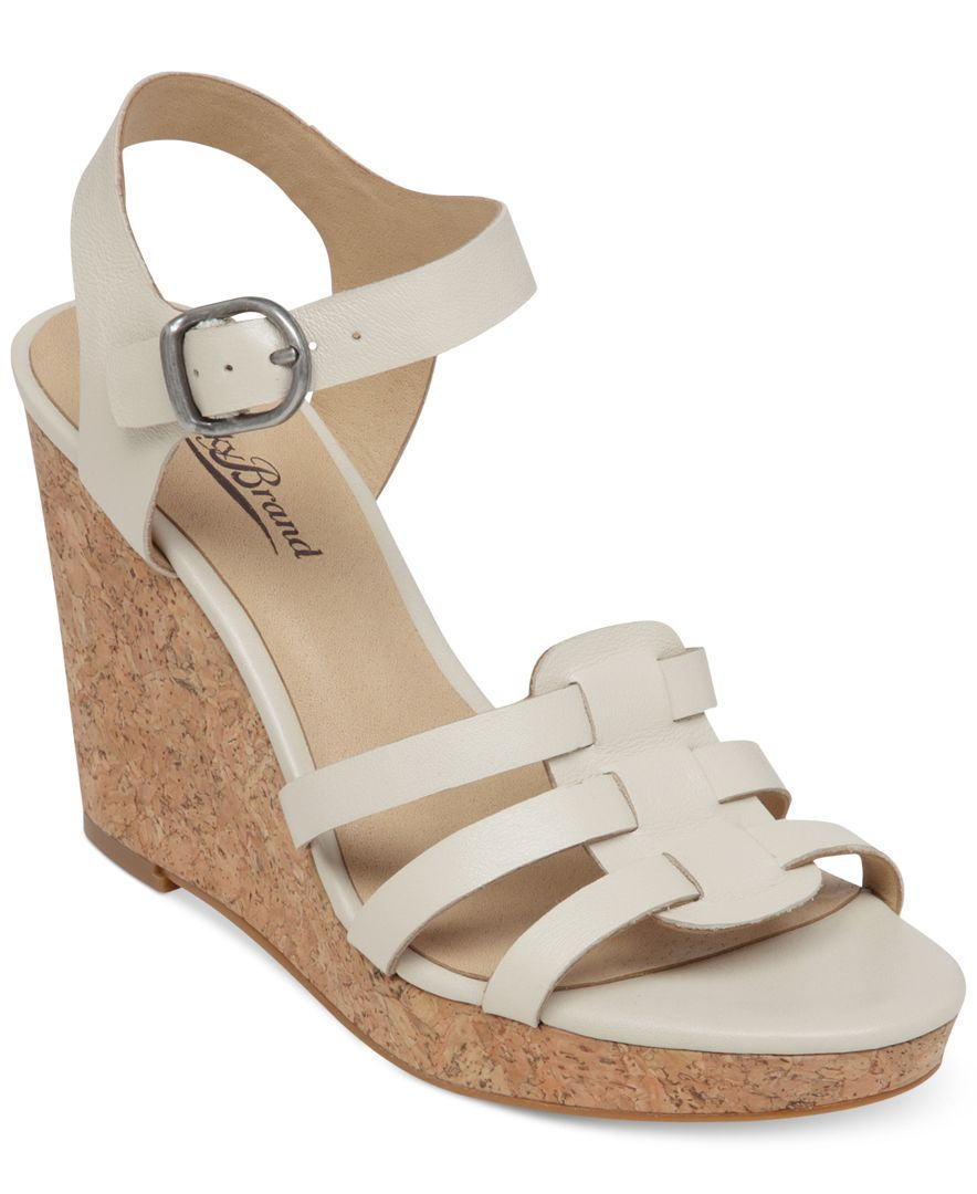 af8b83bf191d Lucky Brand Women s Willows Platform Wedge Sandals