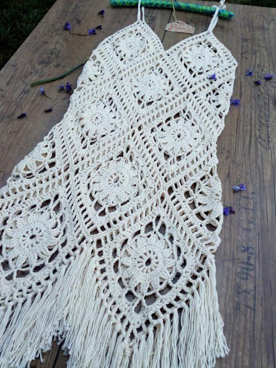 Photo of Häkeln Sie Boho Kleid Sommerkleid Kleid für  #amigurumi #crochet #knitting #am…