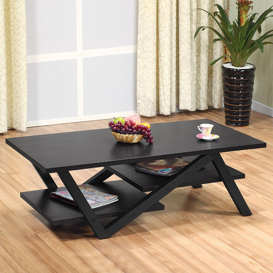 Overstock Com Online Shopping Bedding Furniture Electronics Jewelry Clothing More Coffee Table Black Coffee Tables Modern Floating Shelves [ 1000 x 1000 Pixel ]