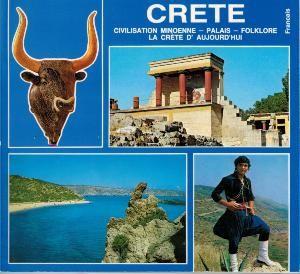 CRETE Civilisation Minoenne - Palais - Folklore La Crète d'aujourd'hui