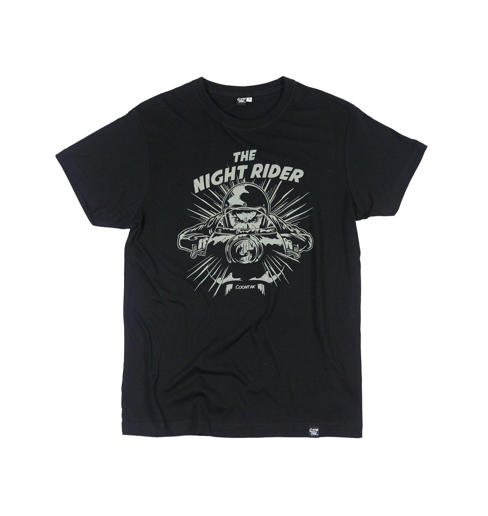 T-shirt Night Rider by COONTAK | Shop on: https://grafitee.us/s/t-shirts/935-t-shirt-night-rider.html | #tshirt #fashion #clothing #apparel #grafitee #shopindie