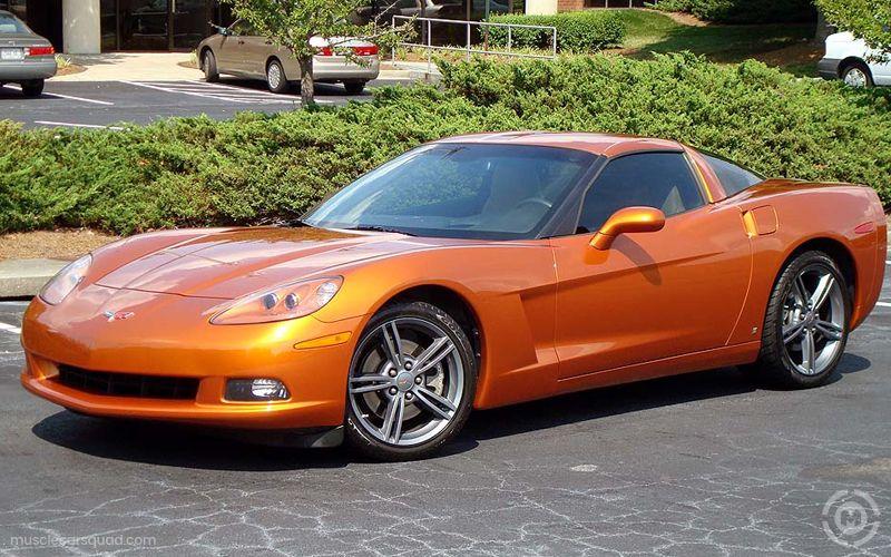 Orange Chevrolet Corvette Pictures Muscle Car Squad Chevrolet Corvette Corvette Chevrolet