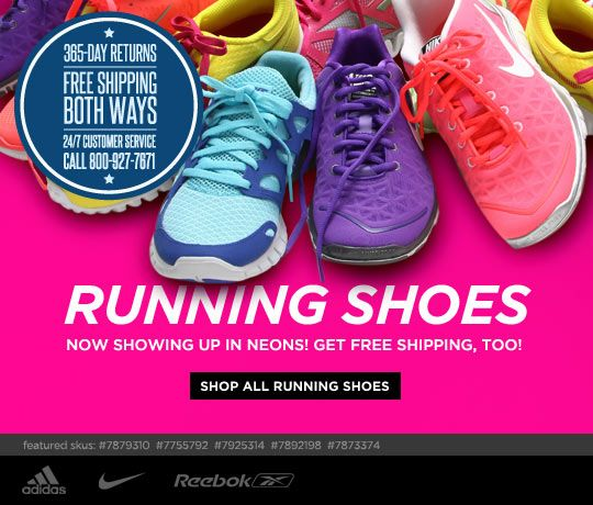 best loved a4f43 9abeb Online Shoes, Clothing, Free Shipping and Returns. Neon Running ...