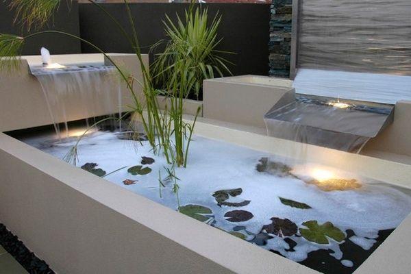 Wasserspiele Im Garten Luxus Outdoor Bereich Haus