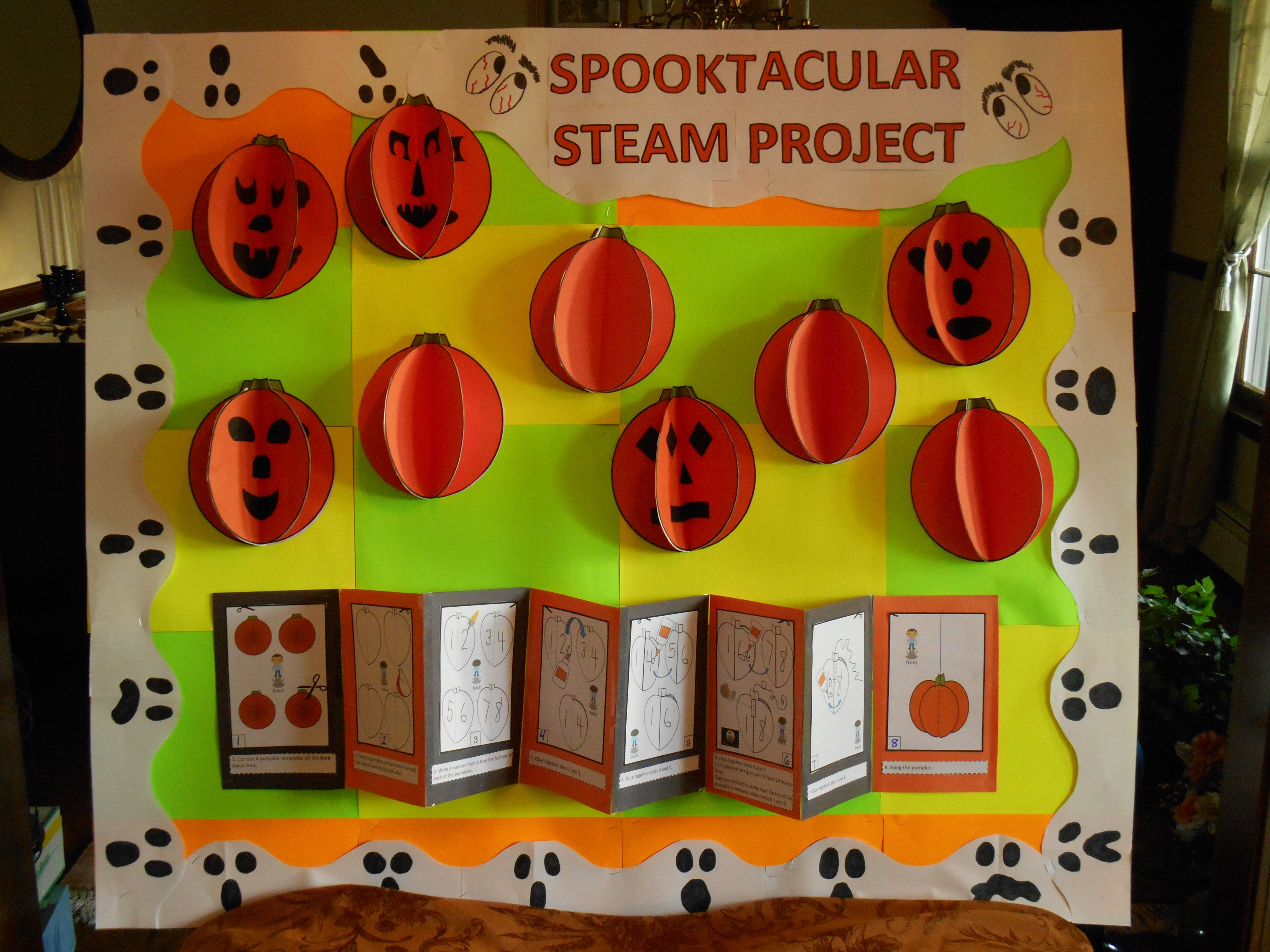 Halloween Steam Stem Language Infused Crafts Learning