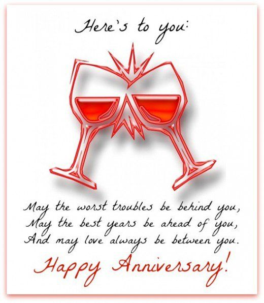 Happy Anniversary Messages and Wishes Wedding anniversary - free printable anniversary cards for her