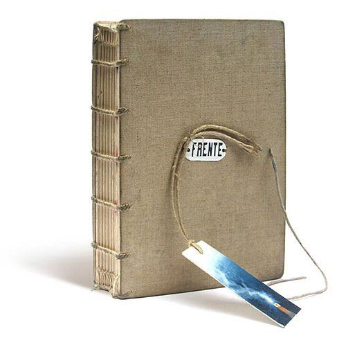 Linen sketchbook by Zoopress studio, via Flickr
