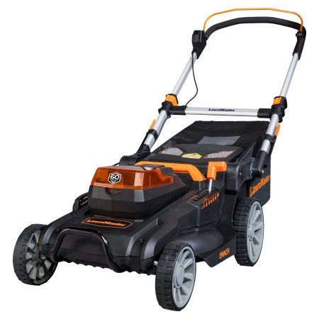 Lawnmaster 60v 19 Inch Cordless Lawn Mower Clmft6018a Cordless