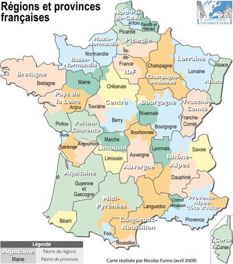 Resultat De Recherche D Images Pour Anciennes Regions De France