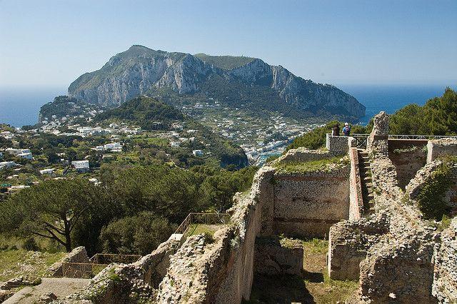 Villa Jovis, Capri Greenhouse farming, Capri island
