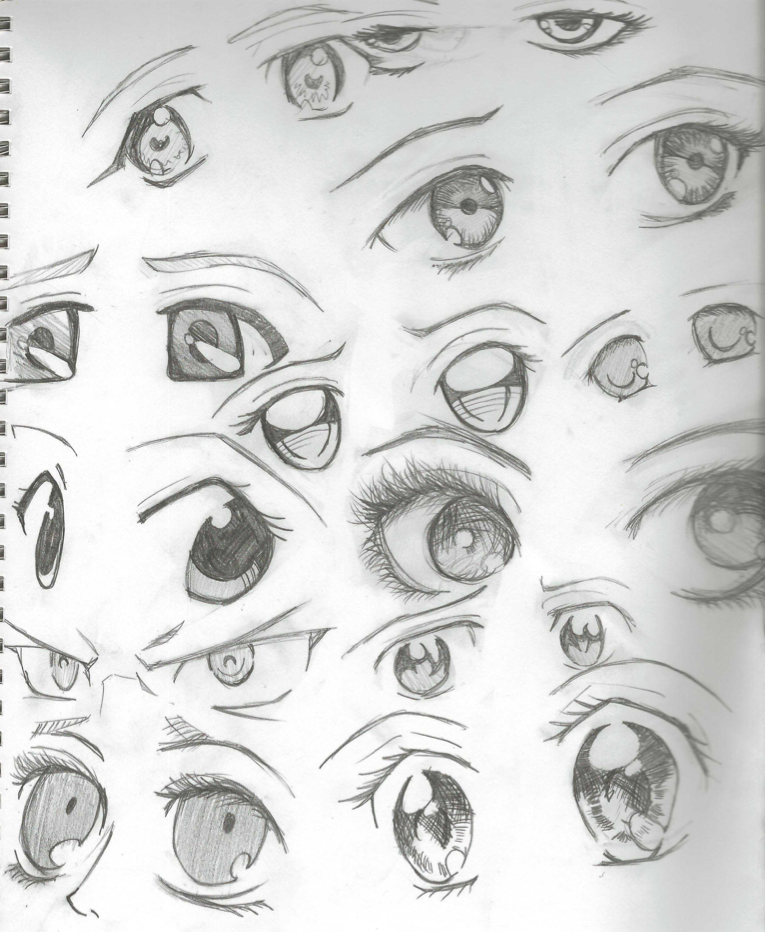 Eye Drawings Anime Eyes Anime Eye Drawing Easy Anime Eyes