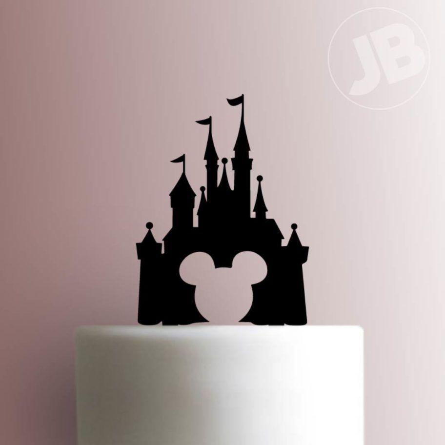 Disney castle cake topper 101 disney castle cake topper