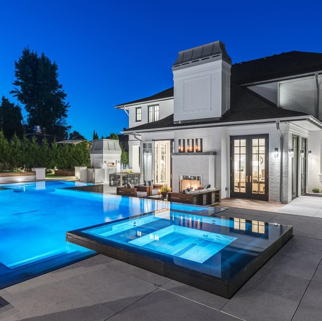 Pin By Sorella Paper Design On Backyard Pools Expensive Houses Luxury Homes Millionaire Homes