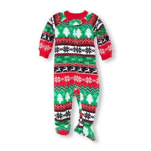 Baby Boys Baby And Toddler Boys Long Sleeve Christmas Fair Isle ...