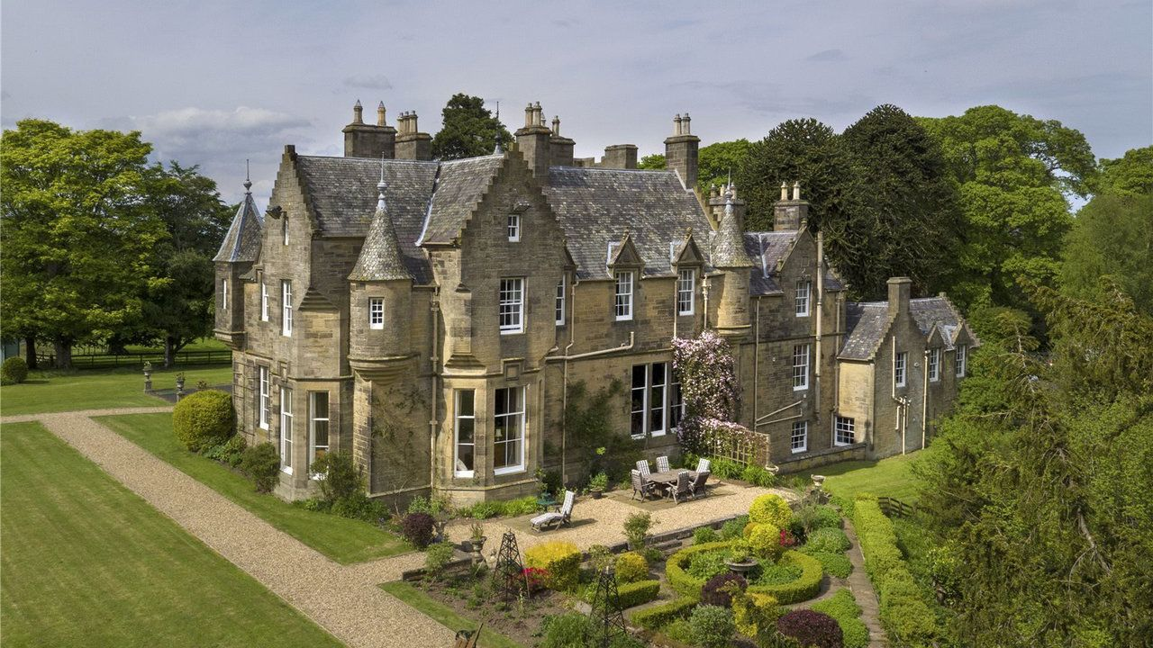 Historic scottish castle being sold after decadelong