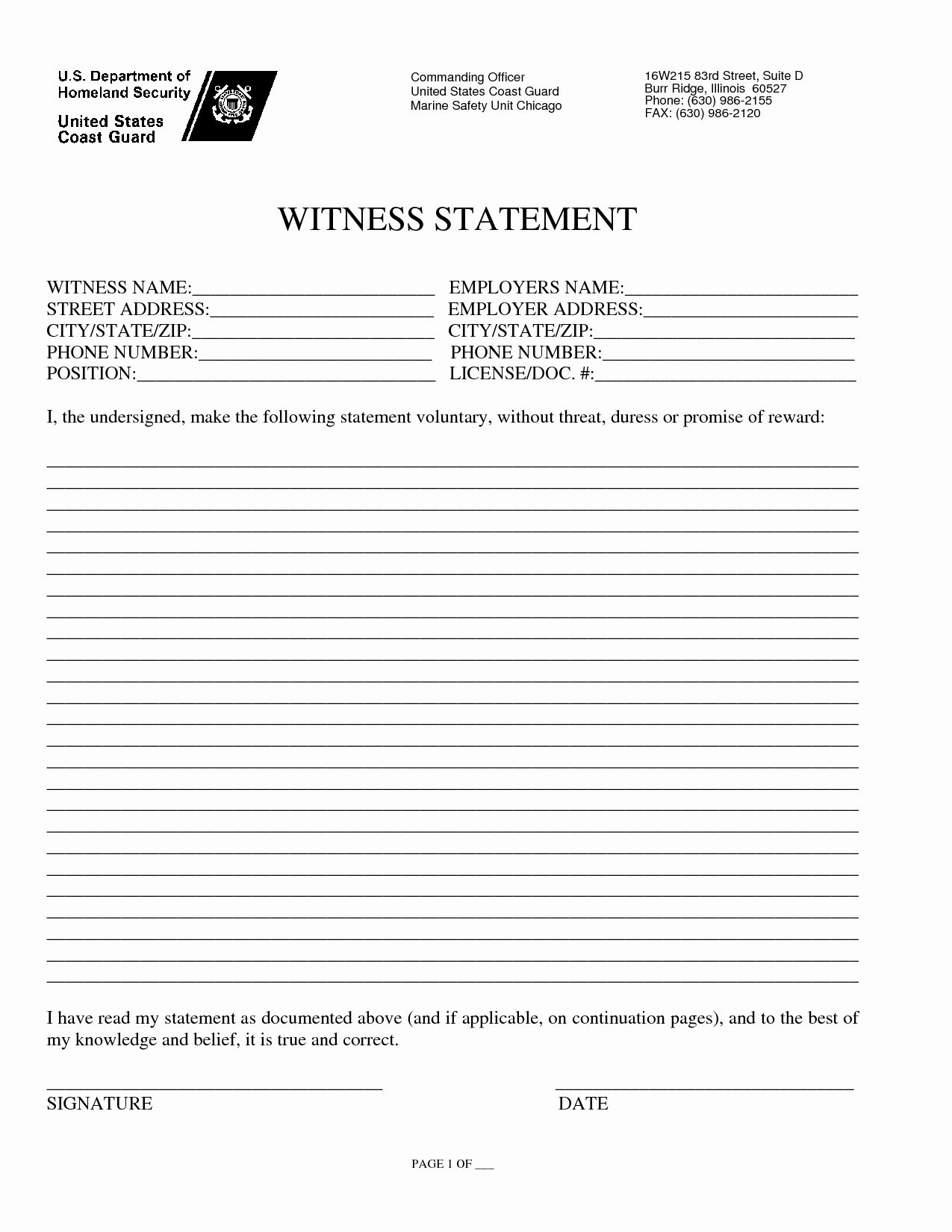 Witness Statement Form Template Best Of Index Of Cdn 3