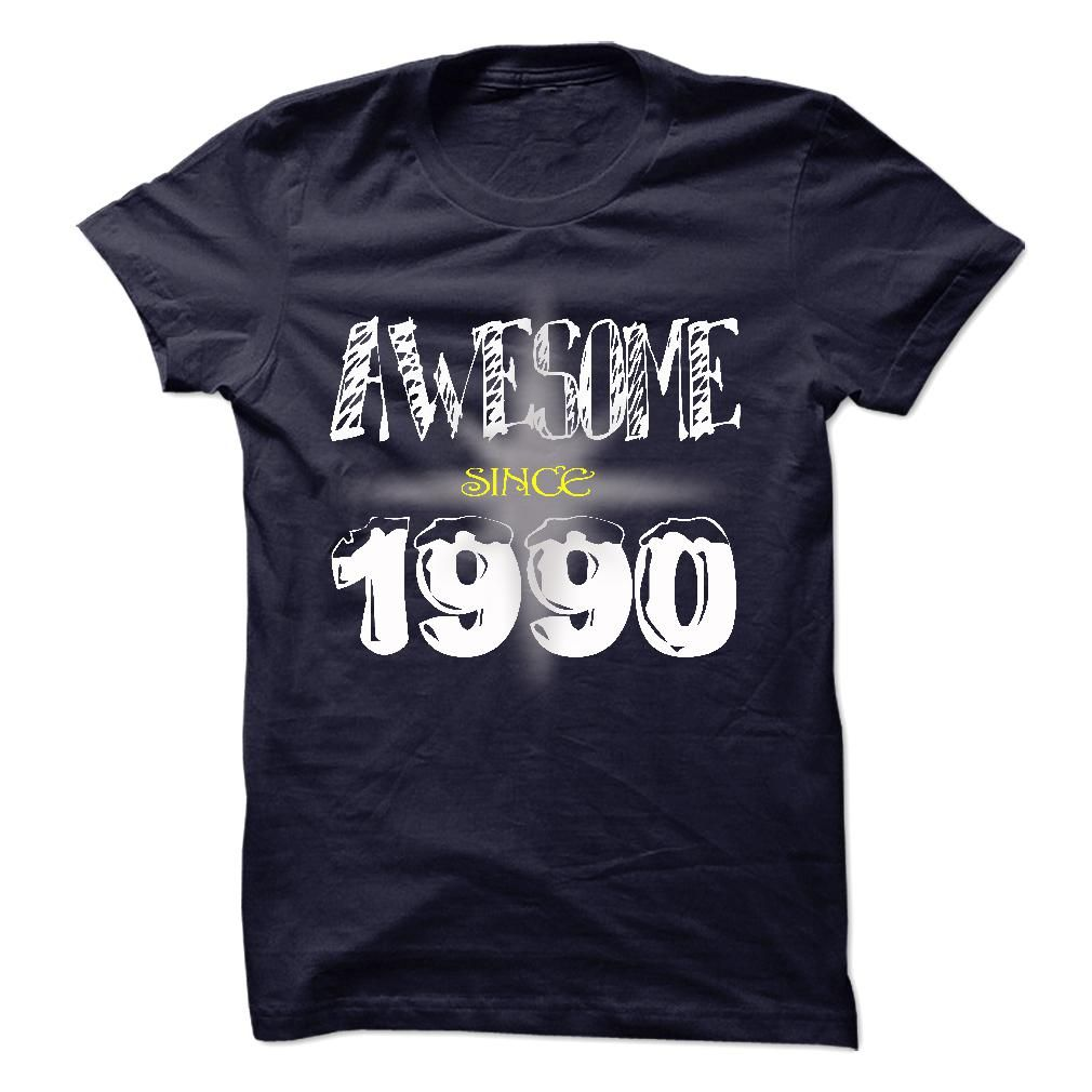 Affordable Awesome Since 1990 Cheap Bustedtees Tshirts