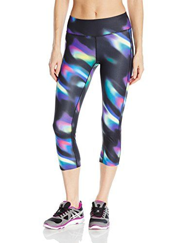 89728c1b0011 ASICS Womens Interval Capri Sea Wave Black Small     Learn more by visiting  the image link. (Note Amazon affiliate link)  PantsCapris
