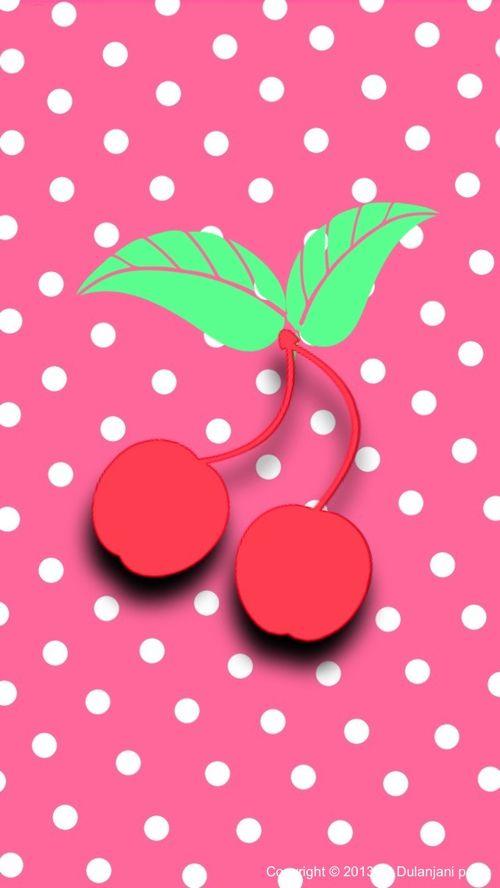 Cute Cherries Wallpaper Pretty Phone Wallpaper Desktop Wallpapers Backgrounds Wallpaper Backgrounds