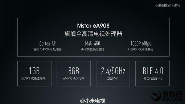 Interesante: Xiaomi TV 3S, una Smart TV de 43 pulgadas que cuesta sólo 250 euros