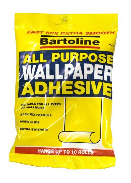 Pack Bartoline All-Purpose Wallpaper Adhesive 5 Roll 6 Pint