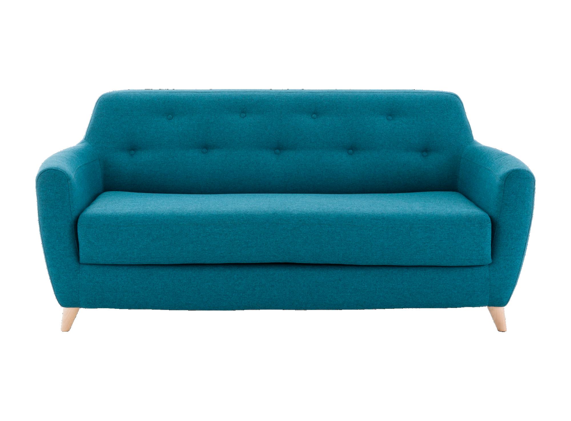 Bien connu Canape convertible 3 places tissu bleu | Fly | bureau | Pinterest  OK85