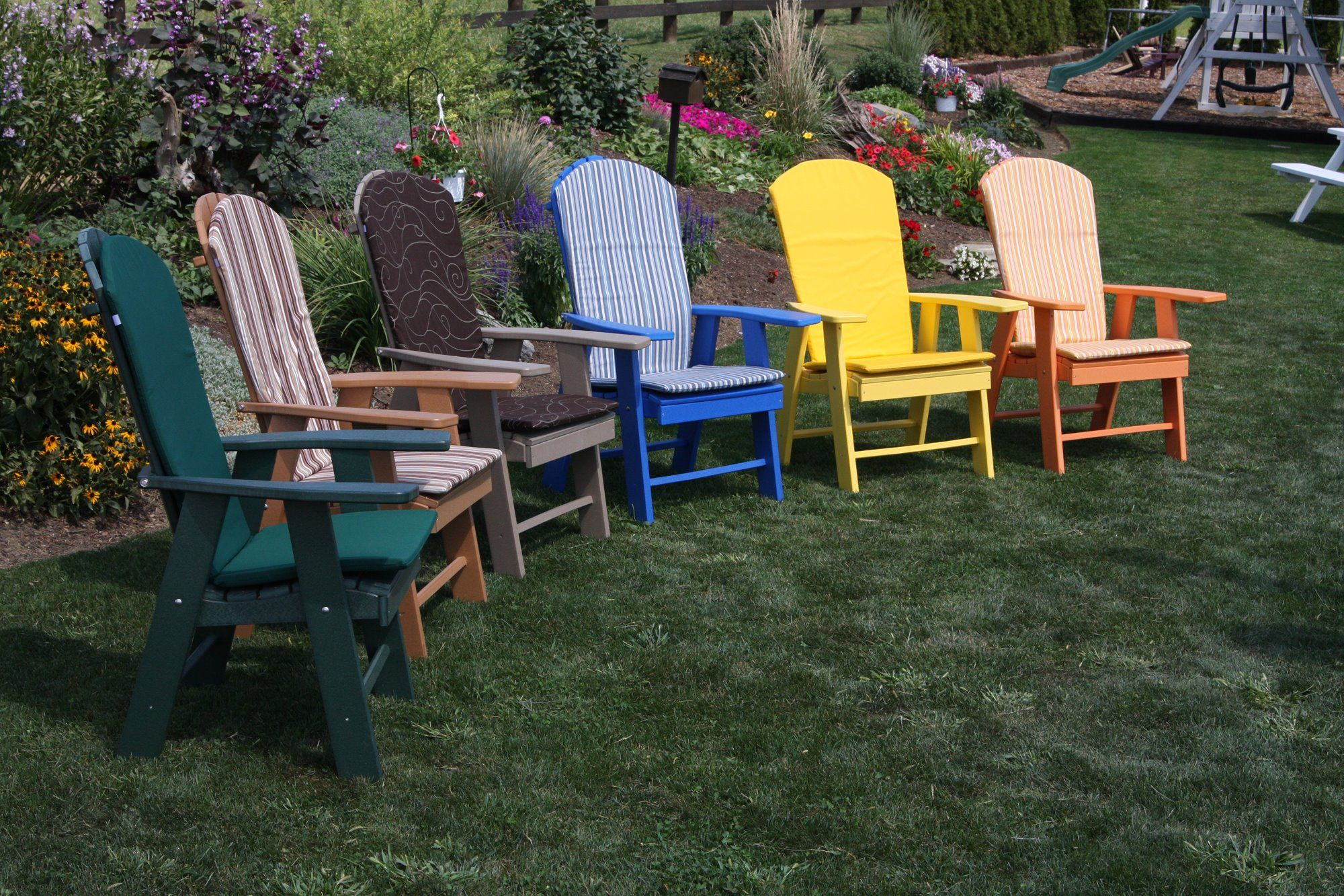 Poly Upright Adirondack Chair  Adirondack chair, Outdoor seat