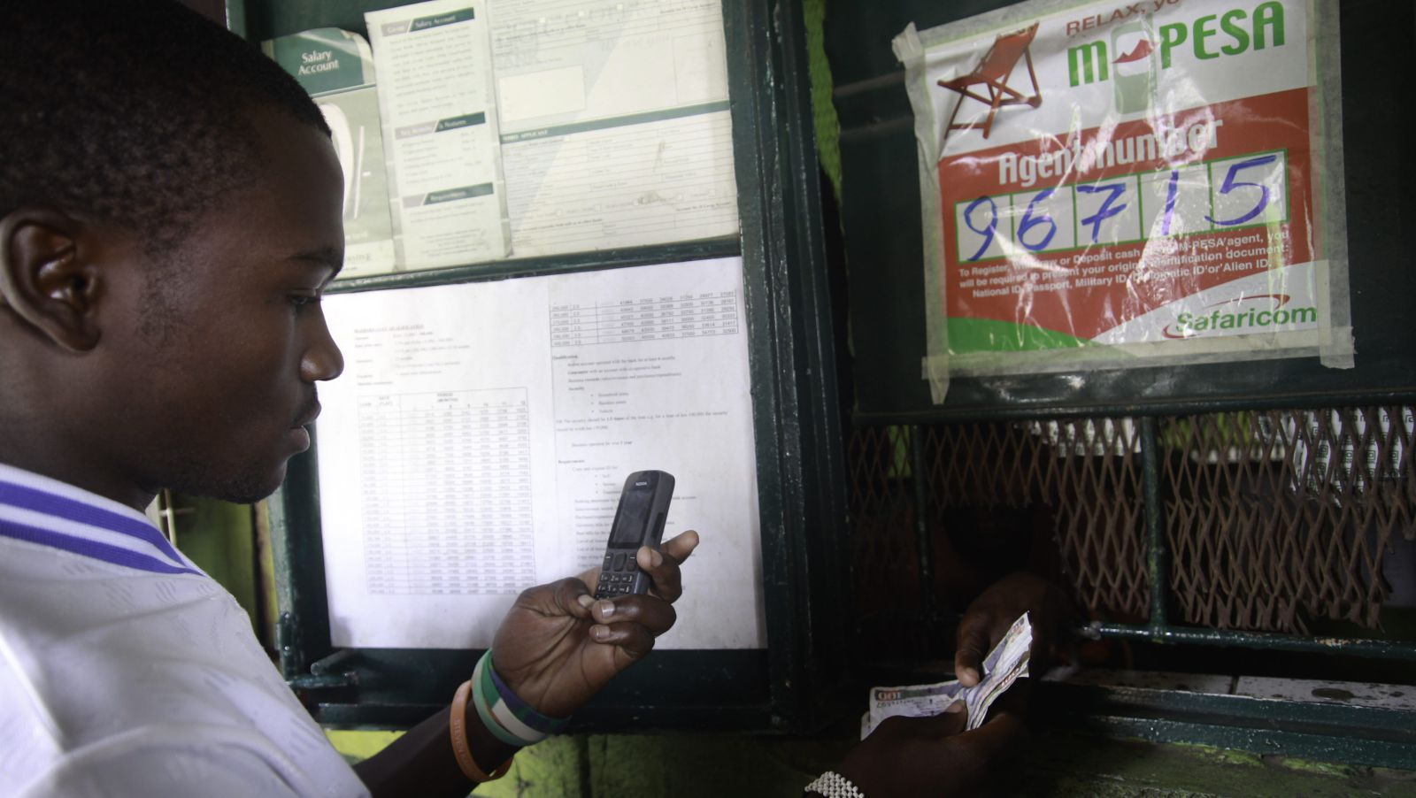 Mobile money is only just starting to transform some of