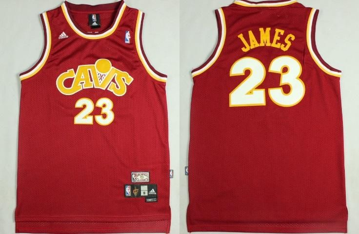 sports shoes 6c70a 665da Men's CAVS #23 Lebron James Jersey Red color jersey Fanatics ...