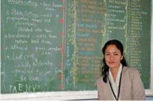 She Teaches to Inspire Others  http://www.childfund.ie/?page_id=537