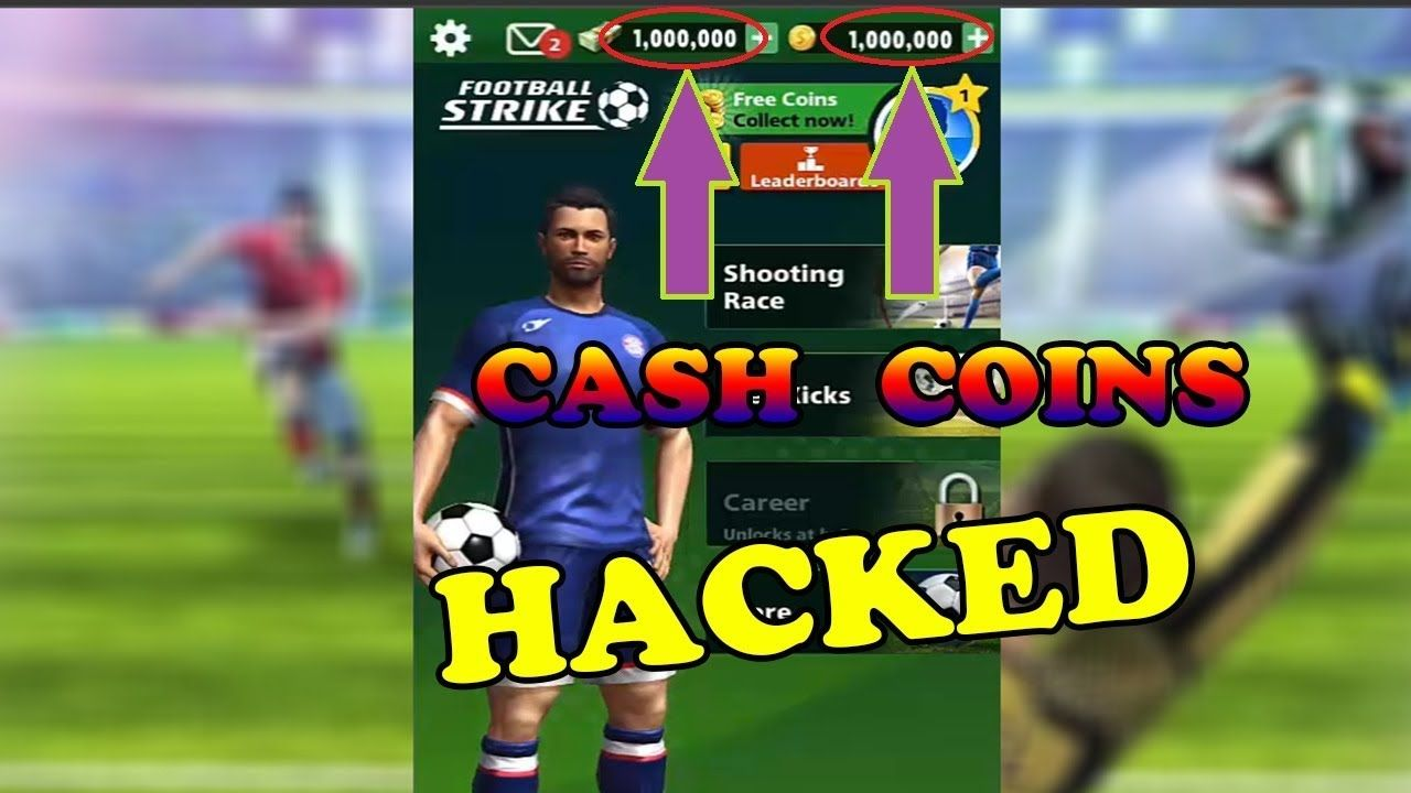 Football Strike Hack Free Unlimited Cash And Coins In 2020 Football Strike Football Strike