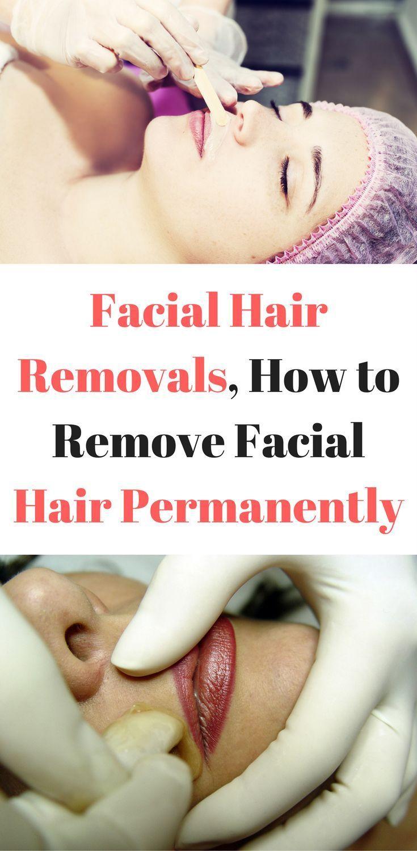 Gesichtshaarentfernung Wie Gesichtshaar dauerhaft zu