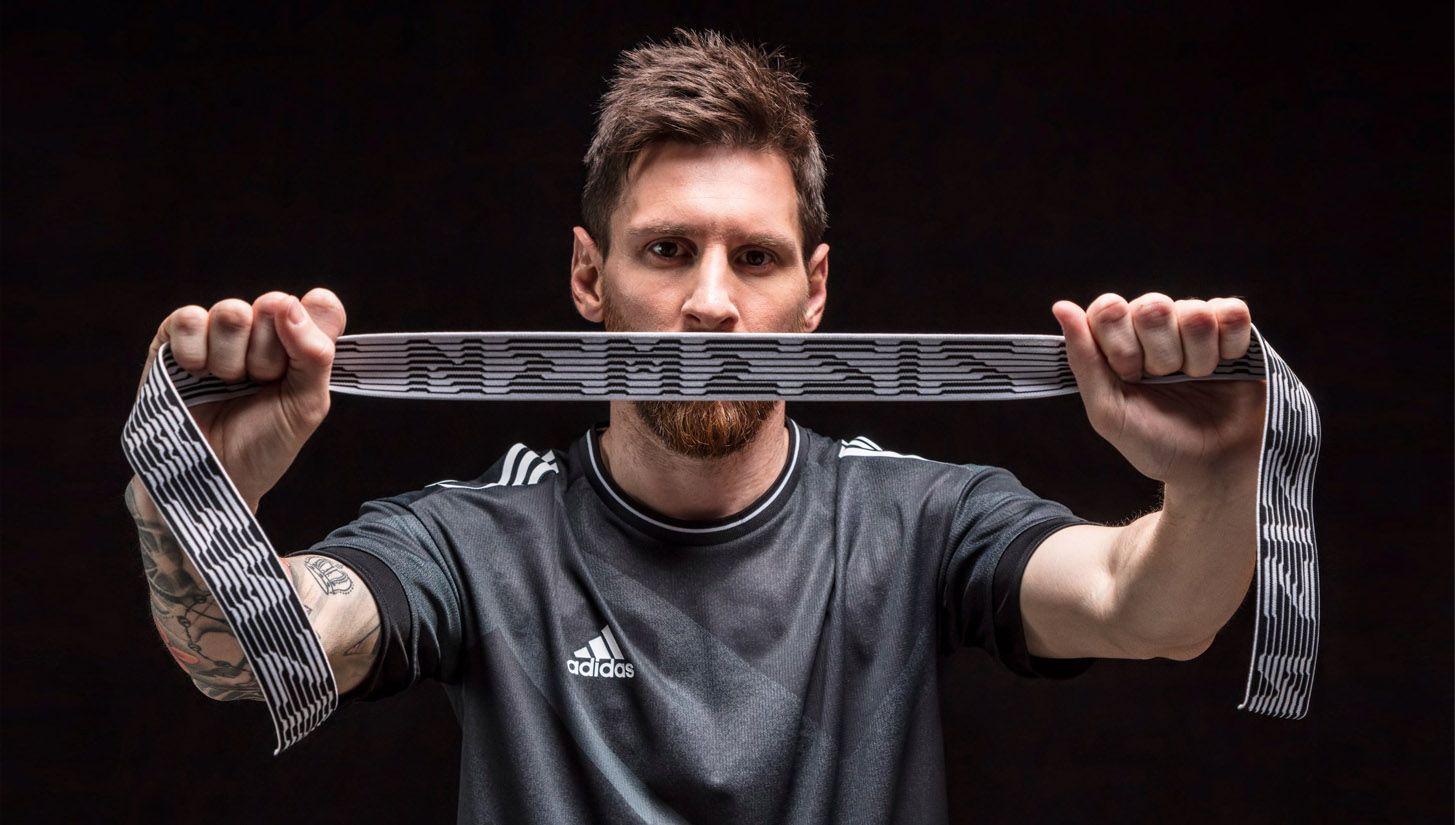 Leo Messi Teases adidas Nemeziz
