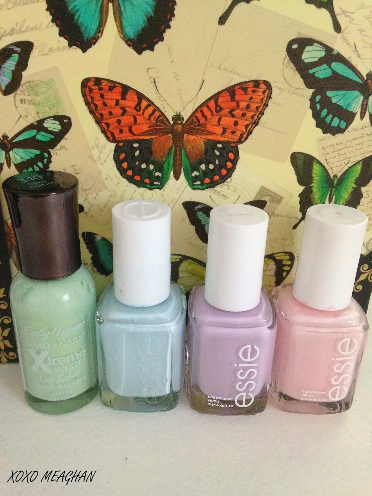 I Dream Of Pastels: Nail Polish! #essie #sallyhansen