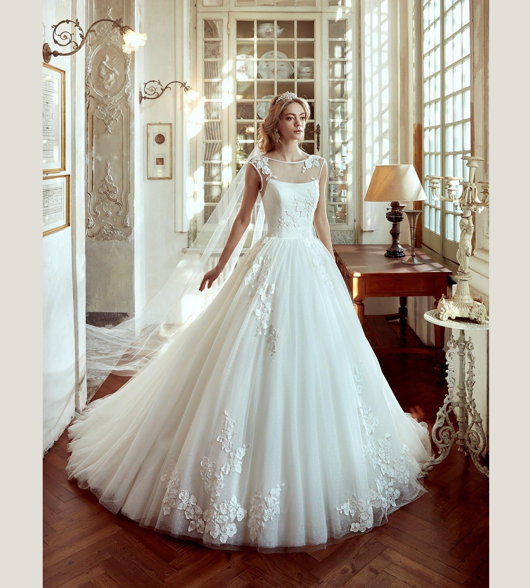 Moda sposa kollektion nicole niab abito da sposa