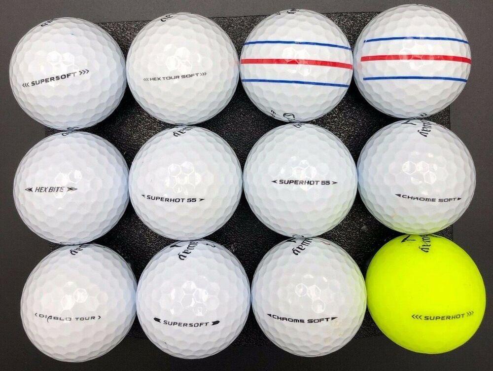 12 Callaway Mix Golf Balls 5a Near Mint Condition Preowned Ebay In 2020 Golf Ball Taylormade Golf