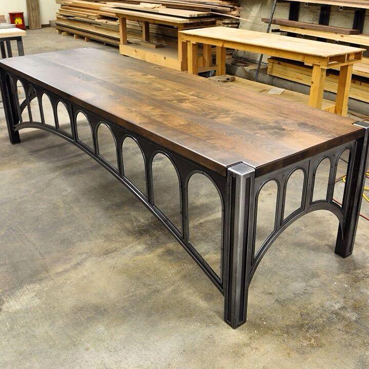 42 Desk Industrial Design Furniture Vintage Industrial