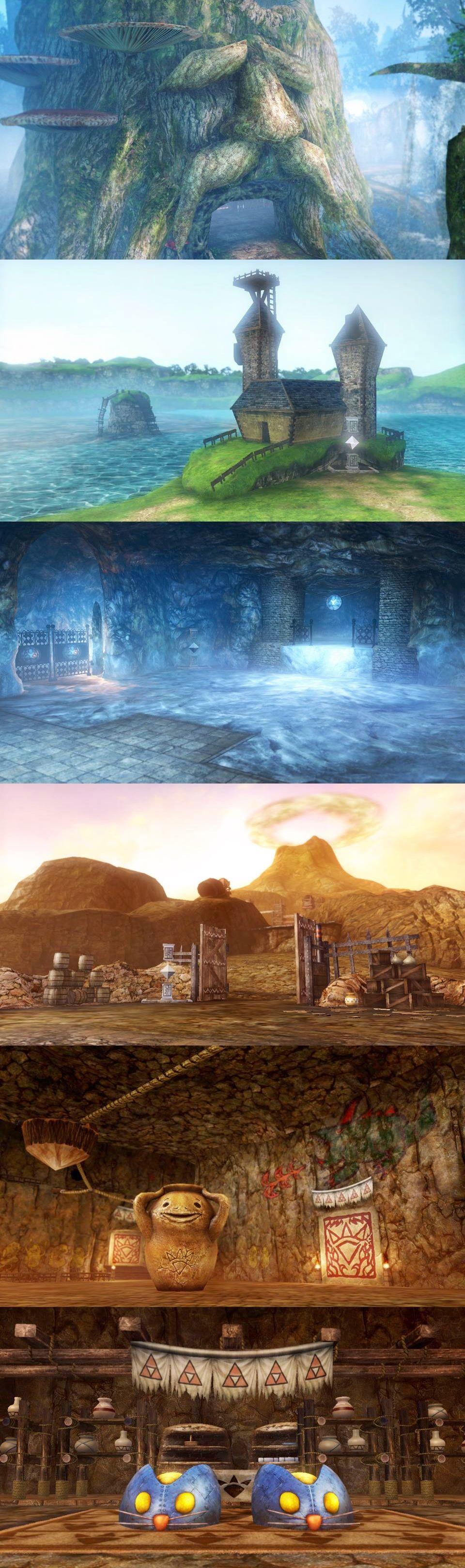 Hyrule Warriors Ocarina Of Time World Levels Zelda Wiiu Legend Of Zelda Hyrule Warriors Pictures
