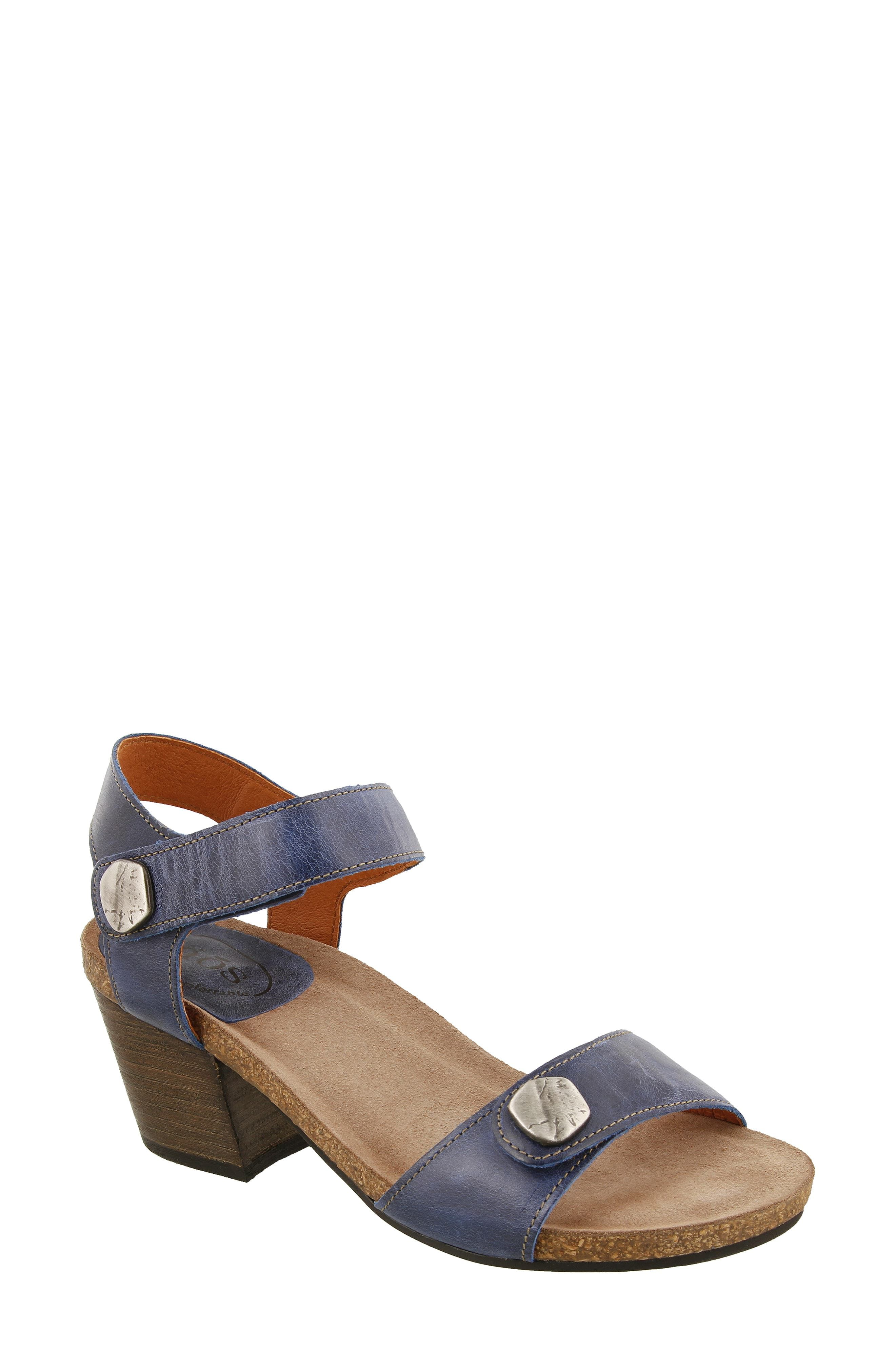 Taos Footwear Sandals heel comfort leather adjustable Taos Shoes Envy