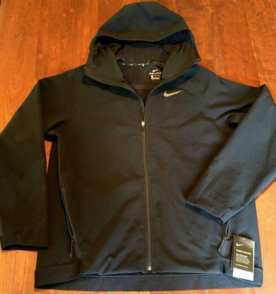 c748f45678 NIKE Therma Sphere Dri-Fit Full Zip Hoodie Jacket 897976-010 SIZE XL  250  NWT  Nike  ActivewearLongSleeve