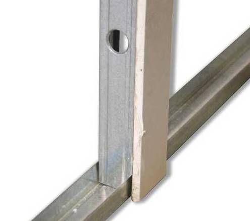 poser des rails pour cloisons s ches en placo type ba13. Black Bedroom Furniture Sets. Home Design Ideas