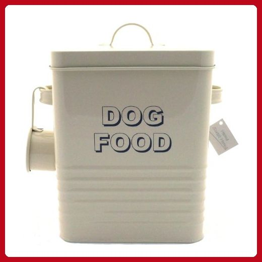 The Leonardo Collection Lp22217 Sweet Home Dog Food Storage Tin