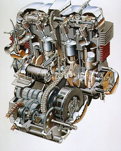 47b92be2e9b71c00c0ce33dec8d24f45 Jpg 426 530 Pixels Honda Cb750 Motorcycle Engine Honda