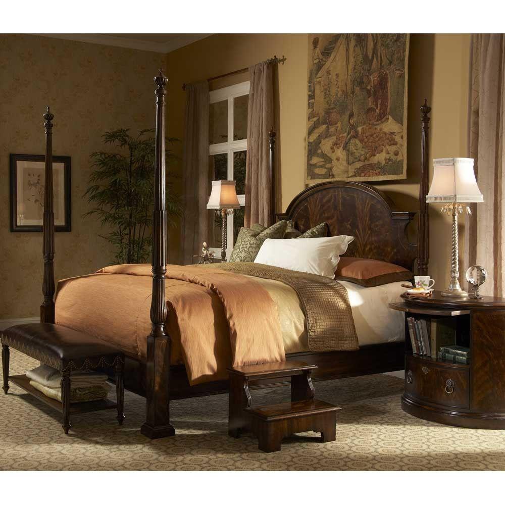 Fine Furniture Design Hyde Park Queen Poster Bed Fine